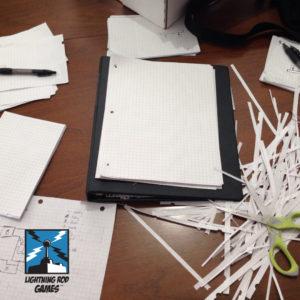 Paper Prototype A Fold Apart